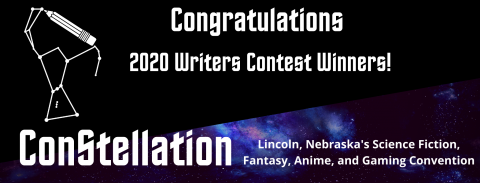 2020 Writer's Contest Winner Logo
